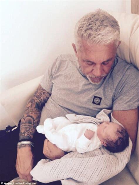 lineker wayne morning ibiza proudly granddad shows younger myla instagram shot gary he emotional daddy doing fine baby