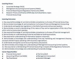 accounting thesis topics
