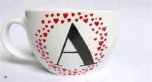 les 89 meilleures images a propos de deco de table diy With peinture d une maison 10 peinture ceramique sur tasse 224 cafe