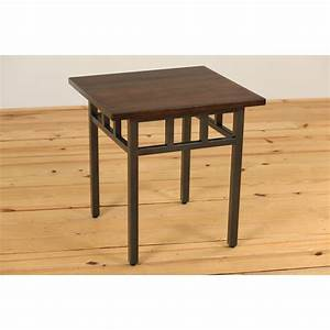 Mixed Mission End Table - Amish Crafted Furniture