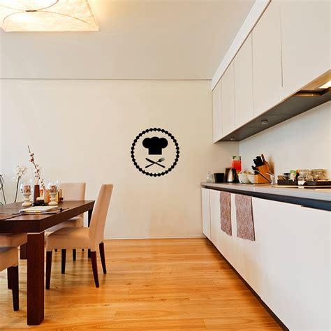 toqué 2 cuisine sticker cuisine toque et couverts stickers cuisine