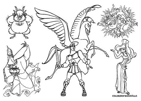 Hercules Coloring Page - Democraciaejustica