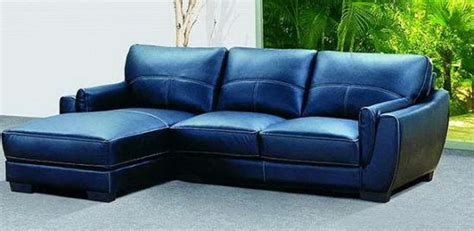 Navy Blue Leather Sofa And Loveseat by 2018 Navy Blue Leather Sofas For A Bold And Stunning