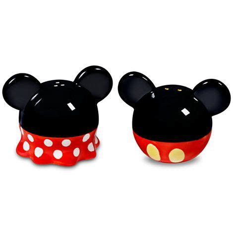 Mickey Mouse Kitchen Essentials Collection by Best Of Mickey Minnie And Mickey Mouse Salt And Pepper