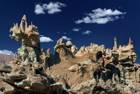 Ipad Wood Stand by Eroded Sandstone Formations Fantasy Canyon Utah Photograph