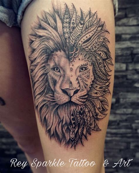 lion tattoo ideas  pinterest