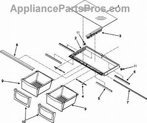 Parts For Maytag Mfi2568aes  Crisper Assembly Parts