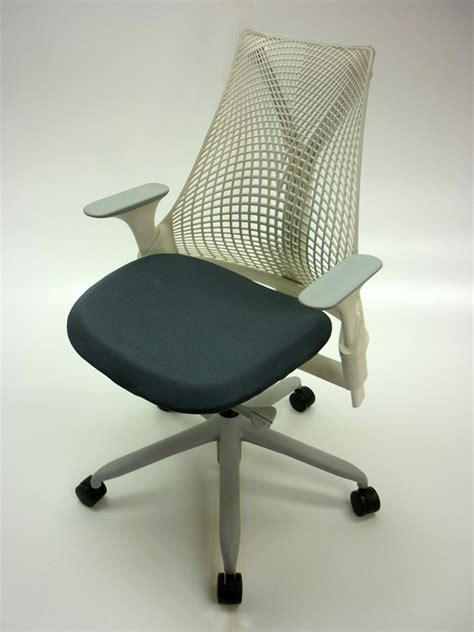 Herman Miller Sayl Chair White by Herman Miller Sayl White Grey Task Chair Ce Recycled