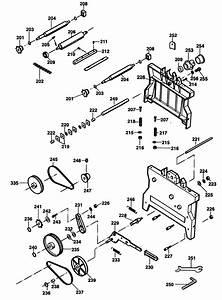 Spares For Black  U0026 Decker P7113 Planer Thicknesser  Type 2