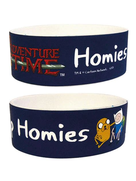 adventure time homies  homies wristband buy