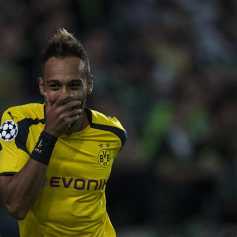 Pierre-Emerick Aubameyang Linked with Record-Breaking ...