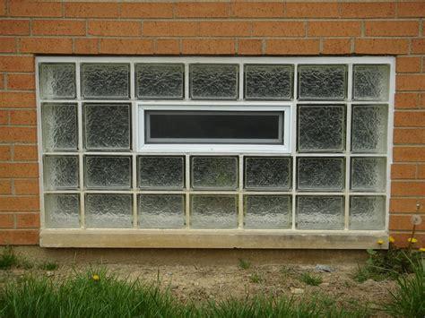 basement bathroom garage glass block windows columbus