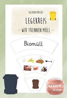 """Kostenlose lieferung für viele artikel! Ausschneidebogen """"Müll sortieren"""" Zum Thema """"Müll und ..."""