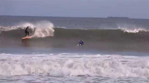surfing hurricane gonzalo narragansett beach ri part