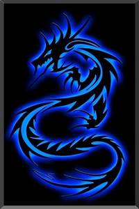 Wallpaper for iPhone Tribal Dragon | Dragon Struck ...