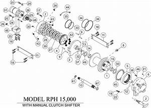 Ramsey Winch Rph-15000 Parts