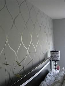 Graue Tapete Schlafzimmer : tapete in grau stilvolle vorschl ge f r wandgestaltung ~ Michelbontemps.com Haus und Dekorationen
