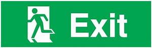 Running Man Left Exit