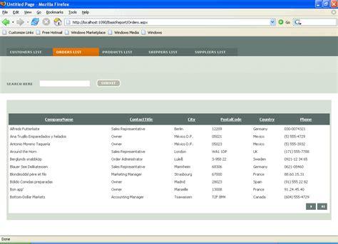 Aspx Net Templates Asp Net Design Templates