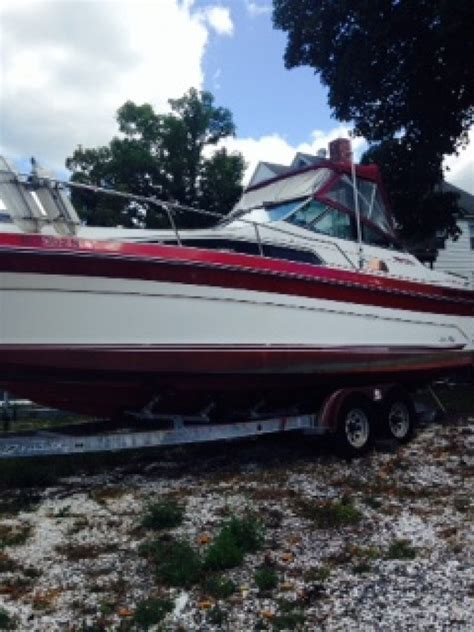 Used Boat Trailers For Sale Rhode Island by 1988 27ft Sea Sundancer And Trailer Rhode Island