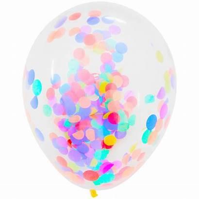 Confetti Action Ballon