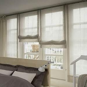 Fenstergestaltung Mit Gardinen Beispiele : raffrollos gardinen bender ~ Frokenaadalensverden.com Haus und Dekorationen