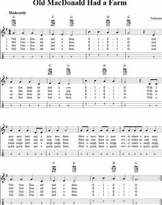 Old Macdonald Had A Farm Chords Sheet Music And Tab For