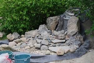 Fabriquer Une Fontaine Sans Pompe : 37 best bassins de jardin images on pinterest water gardens fontaine cascade pour bassin ~ Melissatoandfro.com Idées de Décoration
