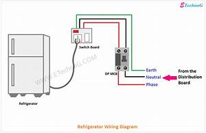 Electrical Wiring Diagram For Refrigerator