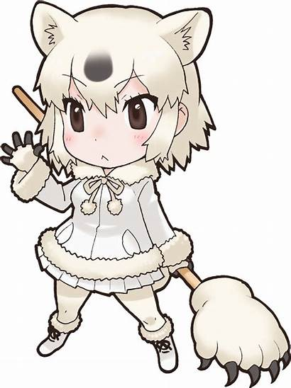 Polar Bear Kemono Friends Character Japari Library