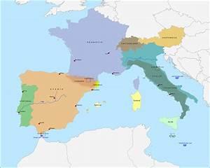Topografie Zuidwest-Europa www topomania net