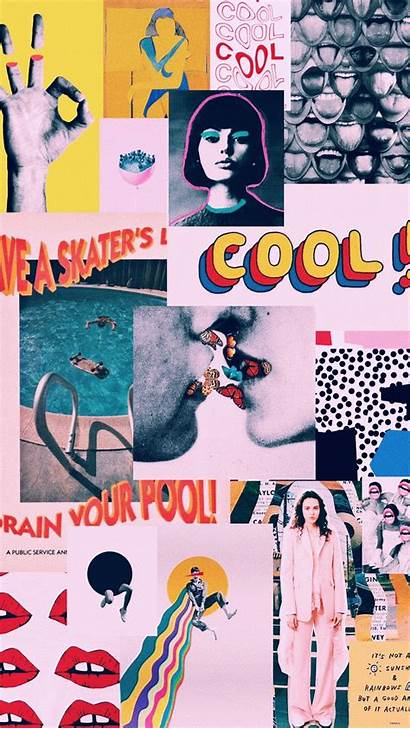 Collage Iphone Wallpapers Retro Aesthetic Artsy