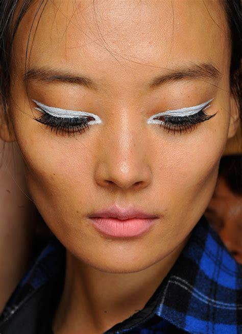 runway beauty  chic  nanette lepore springsummer  makeup  life