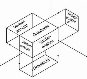 Technische Zeichnung Ansichten : darstellung projektion dreitafelbild ~ Yasmunasinghe.com Haus und Dekorationen