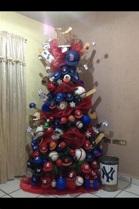 baseball decorated christmas tree wow crafts