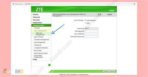 Hal ini bukanlah melanggar kita hanya ingin mengetahui password saja bukan untuk mengubah untuk tipe modem zte lain, biasanya alamat ip, username dan password juga sama dengan tipe f609. Kumpulan Password ZTE F609 Indihome Terbaru (Update 2020)