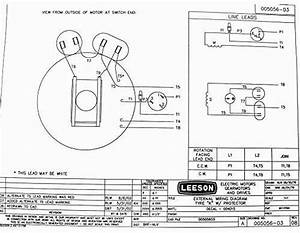 Leeson 5 Hp Motor Wiring Diagram