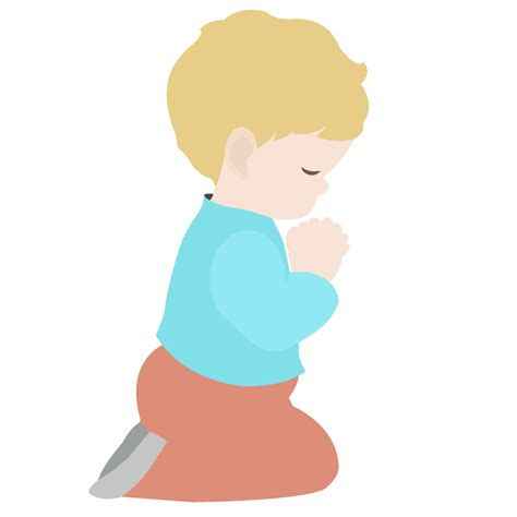Child Praying Hands Clip Art