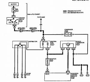 Wiring Harness Schematic For Ditributor On 1995 Nissan Altima