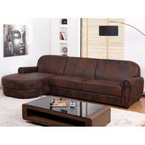canapé convertible aspect cuir vieilli canape d 39 angle cuir vieilli comparer 20 offres