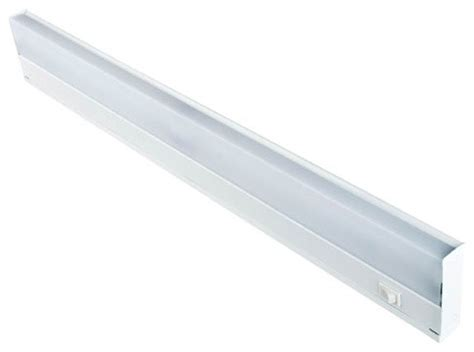 24 inch two light white fluorescent undercabinet fixture