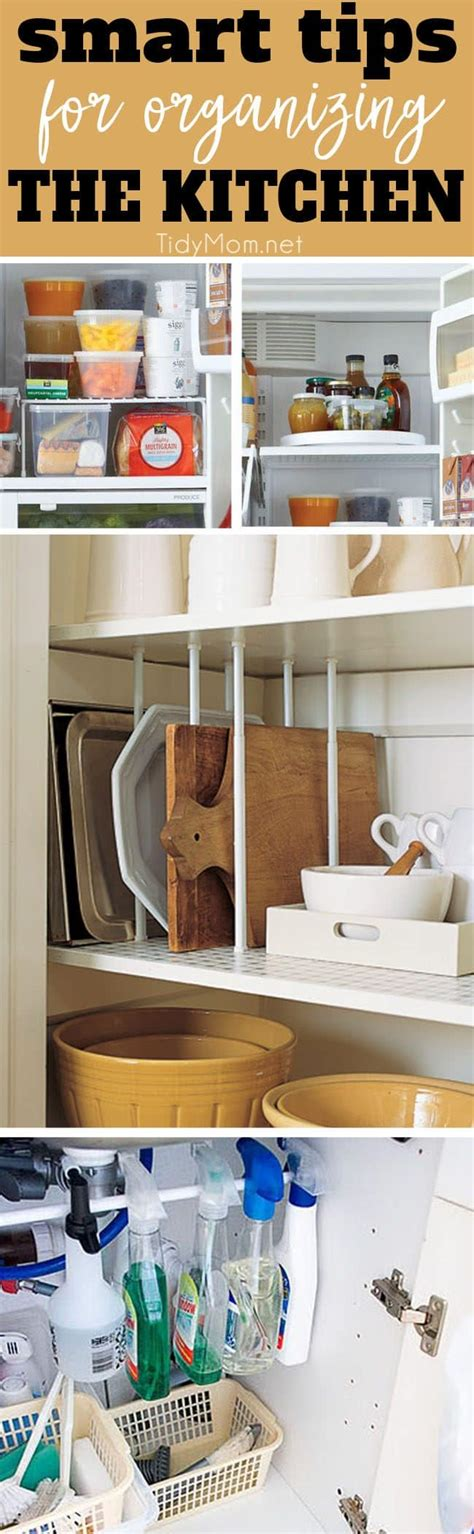 tips to organize kitchen 8 smart organizing tips for the kitchen 6266