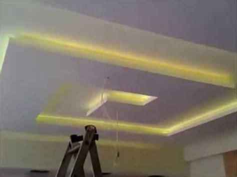 Placoplatre (ba13) Faux Plafond Avec Led Youtube