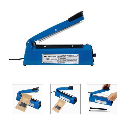 electric hand impulse sealer plastic bags film heat sealing machine  ebay