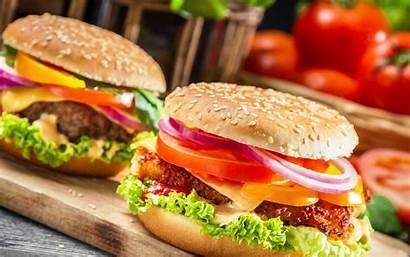 Hamburger Cartoon Burger Wallpapernew Spicy Delicious