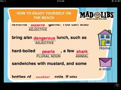 We're Mad For Madlibs