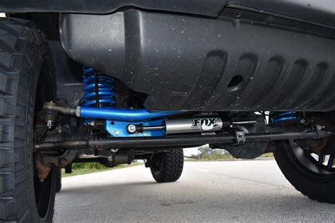 jeep wrangler  rubicon lift fox shocks