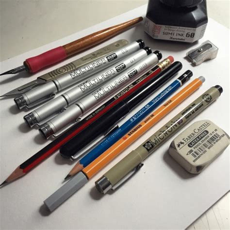 faber castell drawing pens tumblr