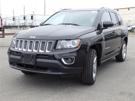 jeep compass sunroof save 5624 new 2014 jeep compass limited w heated