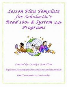 17 best ideas about system 44 on pinterest read 180 With read 180 lesson plan template
